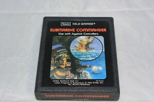 Submarine-Commander-Atari-2600-Sears-Tele-Games-Video-Game-Cartridge-Only