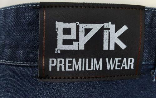Mens EPIK PREMIUM WEAR Jeans Big and Tall 117 124 132 138 46 48 52 54 Plus size
