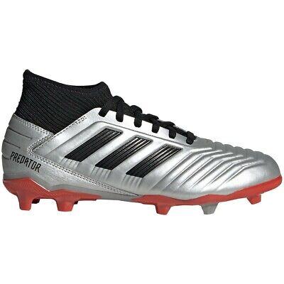 Adidas Kids' PREDATOR 19.3 FG FIRM GROUND J Soccer Shoes SilverBlack G25795 d   eBay