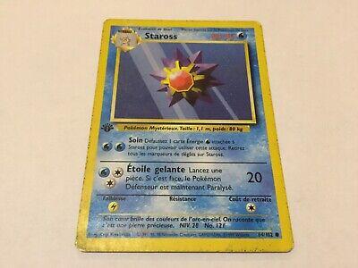 Carte Pokemon STAROSS 64//102 Set de Base Wizard Neuve Française
