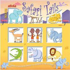 Matchsticks Safari Tails, Peters, Wilson, Ganeri, Anita, Excellent Book