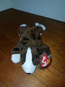 Image is loading Ty-Beanie-Baby-Bruno-RARE-with-Tag-Error- d2ca0607e2d