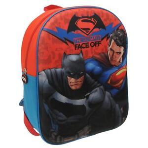 ced9cf20a7 Marvel 3D Batman vs. Superman Backpack School Bag Kids Childrens ...