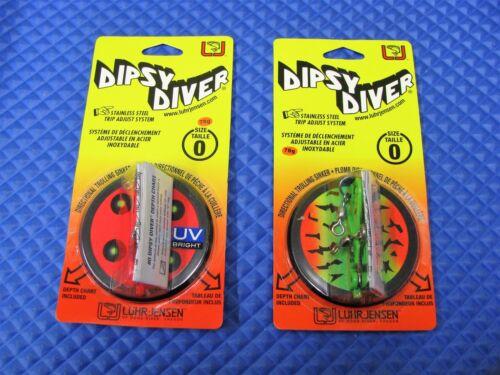 Luhr Jensen Dipsy Divers Size 0 5560-000 Series CHOOSE YOUR COLOR!!!