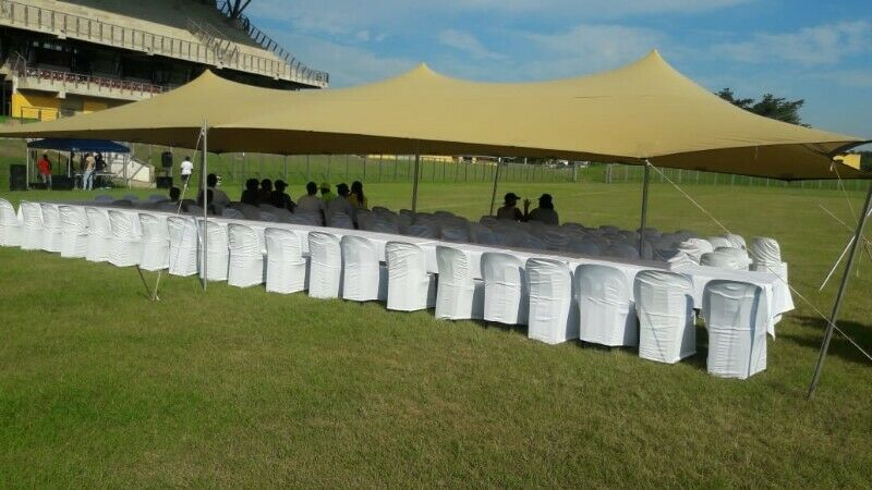 Waterproof stretch tents, marquees and coldrooms for hire in Durban north