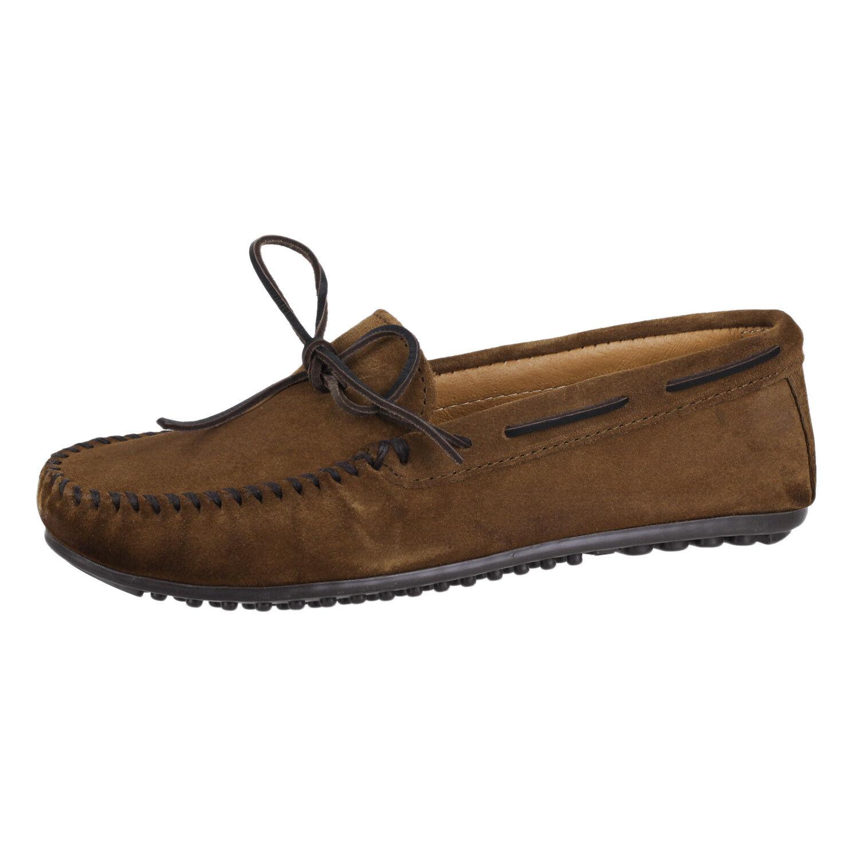 Minnetonka hombre Zapatos Mocasín nub Suela 913 913 Suela Marrón 12 9eced4