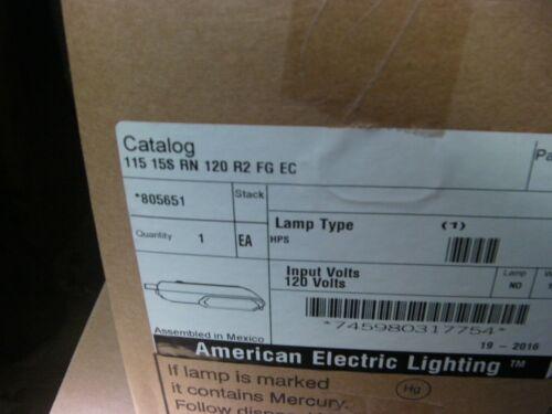 1 EACH NOS  American Electric Lighting 115 15S RN 120 R2 FG EC 120V 150W