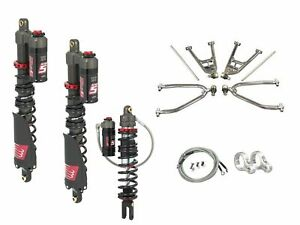 LSR-Lone-Star-DC-4-Long-Travel-A-Arms-Elka-Stage-5-Front-Rear-Shocks-Kit-TRX250R