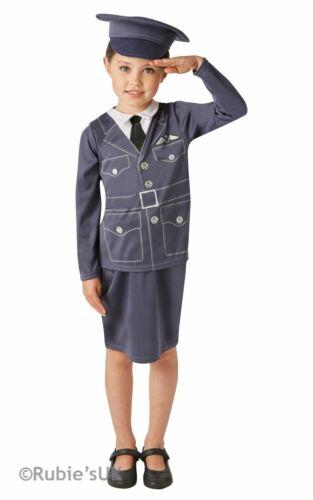 Le ragazze wraf Libro Settimana Costume Bambini Da Donna Royal Air Force Costume Vestito