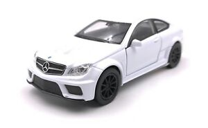 Model-Car-Mercedes-Benz-AMG-C63-Black-Series-White-Car-Scale-1-3-4-39
