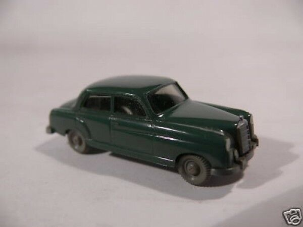 1 87 Wiking 14 MERCEDES 220 Limousine H. patina grigio 59-60
