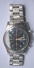 Vintage Hamilton KHAKI FIELD St. steel Chronograph. Cal: 7750. Ready To Wear