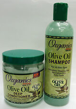 Organics  OLIVE OIL SHAMPOO & DEEP CONDITIONER FOR HAIR CARE /HAIR TREATMENT