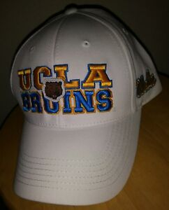 buy online 2db79 c5495 Image is loading UCLA-Bruins-Cap-Snapback-Top-of-The-World-