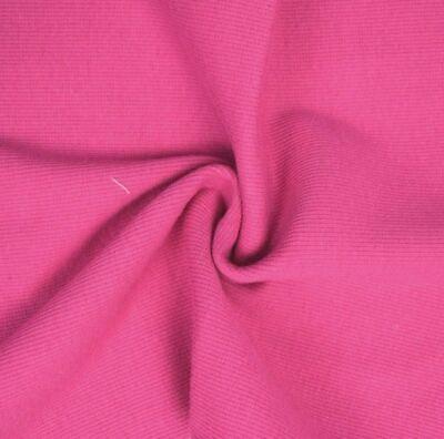 Plain Black HW Stretch Ribbing//Collar//Cuff Fabric 95/% Cotton 5/% Lycra Half M
