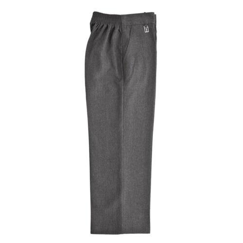 Zeco School Uniform Boys Elastic Back Pull Up Slim Fit Trouser 2-8YRS BT3048