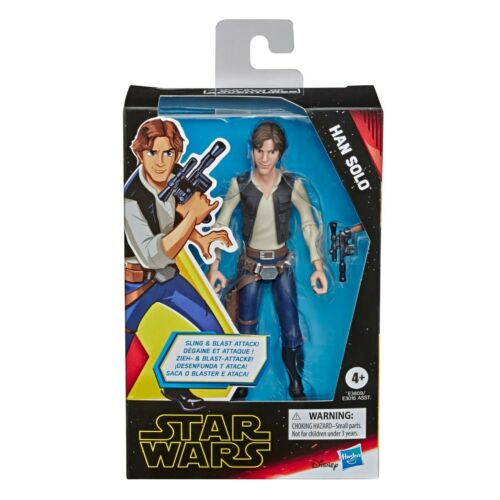 "Star Wars Galaxie des aventures Han Solo 5/"" Action Figure Jouet par Hasbro-Neuf"