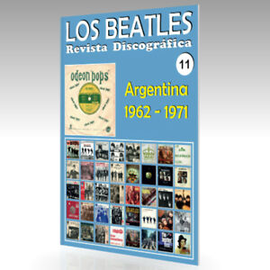 Los-Beatles-Revista-Discografica-N-11-Argentina-1962-1971-Todo-Color