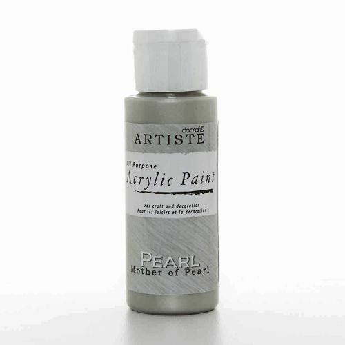DoCrafts Artiste Mother of Pearl Acrylic Craft Paint - 59ml