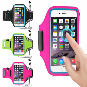 the best attitude 636bf 74986 Details about Running Exercise Arm Band Sports Armband Case Holder For  iPhone 5 6 7 8 X Plus