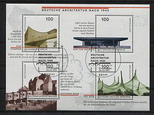 Bund-Block-37-gestempelt-Bonn-ESST-BRD-1906-1909-Ersttags-Sonderstempel-used