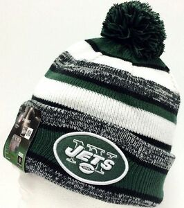 e797a449e05dbc 2014-2015 New York Jets NEW ERA NFL SIDELINE SPORT KNIT Cap Beanie ...