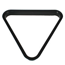 Rack Triangle 8 Ball Pool Billiards Table PC Standard Size Black Accessories New