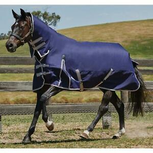 Details About Weatherbeeta Comfitec Essential 50g Durable Horse Combo Neck Field Turnout Rug
