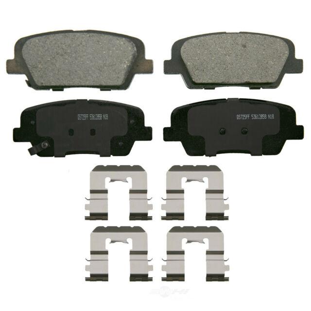 Wagner QuickStop ZD1761 Ceramic Disc Brake Pad Set