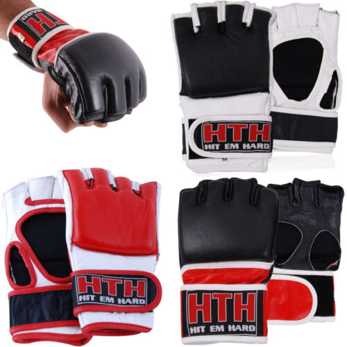Boxing Grappling Gloves Cage Fight Mix Martial Arts Kick Punching Training MMA