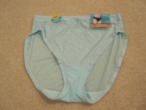 30031411370d Vanity Fair ladies panties light & luxe hi cut size 7 L style# 13195 ...