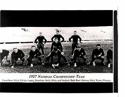 1927 NOTRE DAME NATIONAL CHAMPS 8X10 TEAM PHOTO FOOTBALL INDIANA ...