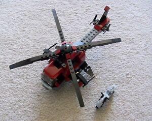 LEGO-Superheroes-Marvel-Wolverine-039-s-Chopper-Showdown-6866-No-Minifigs