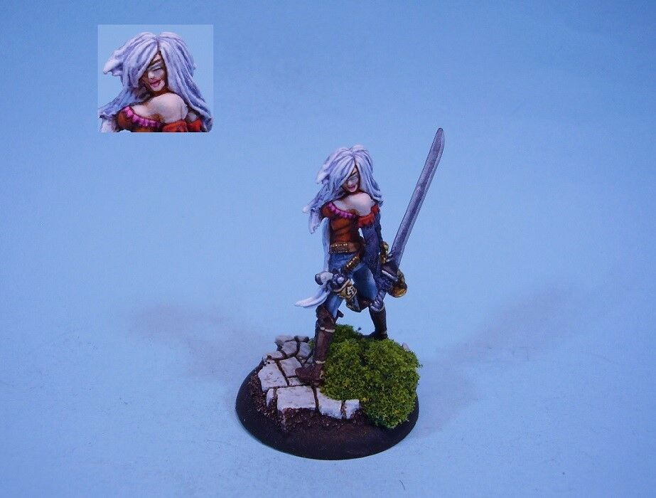 Wyrd Malifaux painted miniature Lady Justice