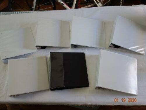 """Non-Locking Slant-D Rings 835-Sheet White 3/"""" 3-Ring Binder"""