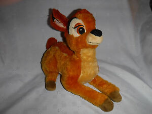 "Disney Store Exclusive 13"" Bambi Plush Soft Toy Stuffed Animal"