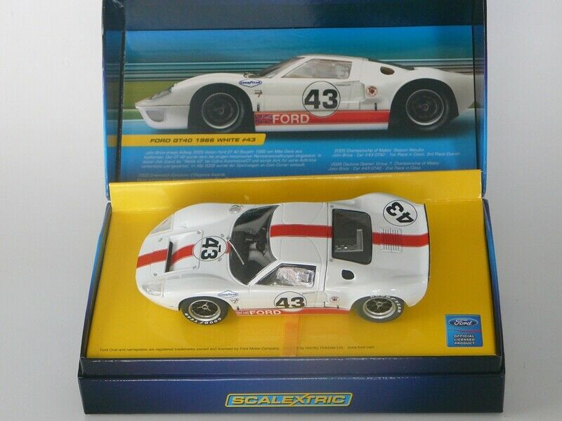 SCALEXTRIC C2941A FORD GT40 1966 German limited 2000ex new in box