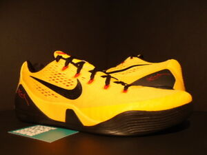 a76b33eda77b NIKE ZOOM KOBE IX 9 EM BRUCE LEE GOLD YELLOW RED CRIMSON BLACK ...