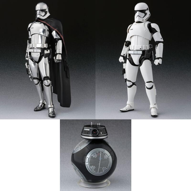 S.H.figuarts Star Wars Captain Last Jedi Phasma First Order Stormtrooper BB-9E