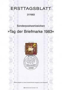 BRD-1983-Tag-der-Briefmarke-Ersttagsblatt-Nummer-1192-mit-Bonner-Stempel-155