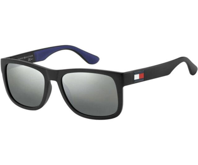 Tommy Hilfiger Sunglasses TH 1458//S D4P Matte Black /& Blue Blue
