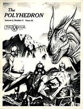 POLYHEDRON MAGAZINE ISSUE #5 EXC! NEWSZINE Dungeons & Dragons RPGA D&D Vol. 2