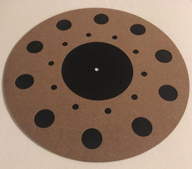 Vibes Audio Lab Turntable Mat Rubber/HD Cork (Thorens,Linn,Rega,Pro-ject)