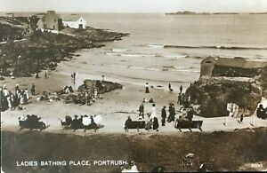 Ladies-Bathing-Place-Portrush-Co-Antrim-Postcard