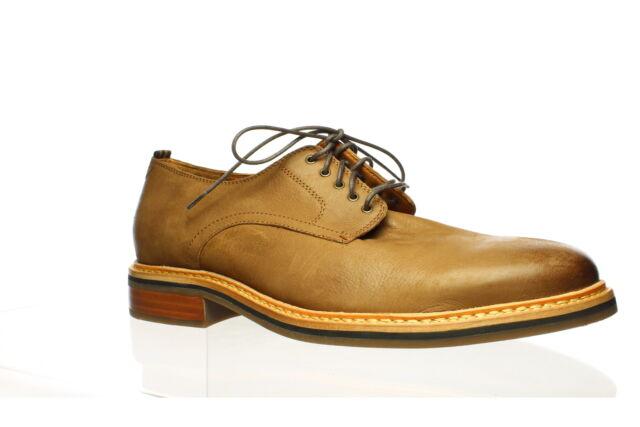 Cole Haan Mens Frankland Grand Light Roast Wr Oxford Dress Shoe Size 13