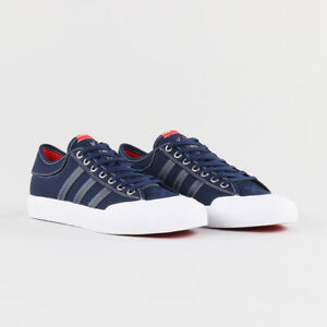 cheaper 48d28 8485a Image is loading Mens-adidas-Matchcourt-x-Bonethrower-Trainers-Collegiate- Navy-
