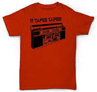 Vintage Cassette Tape T Shirt Deck Turntable Sp 1200