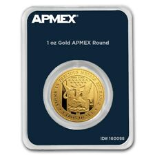 1 oz Gold Round - APMEX (In TEP Package) - SKU #178902