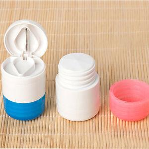 1x-Tablettenmoerser-Tablettenschneider-Tablettenzerteiler-Pillenteiler-Moerser