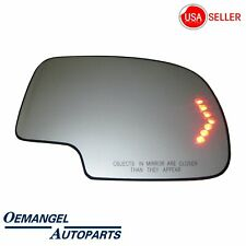 NEW fit 03-07 Cadillac CTS Passenger Side Right RH Mirror Glass Non-Tint #7124